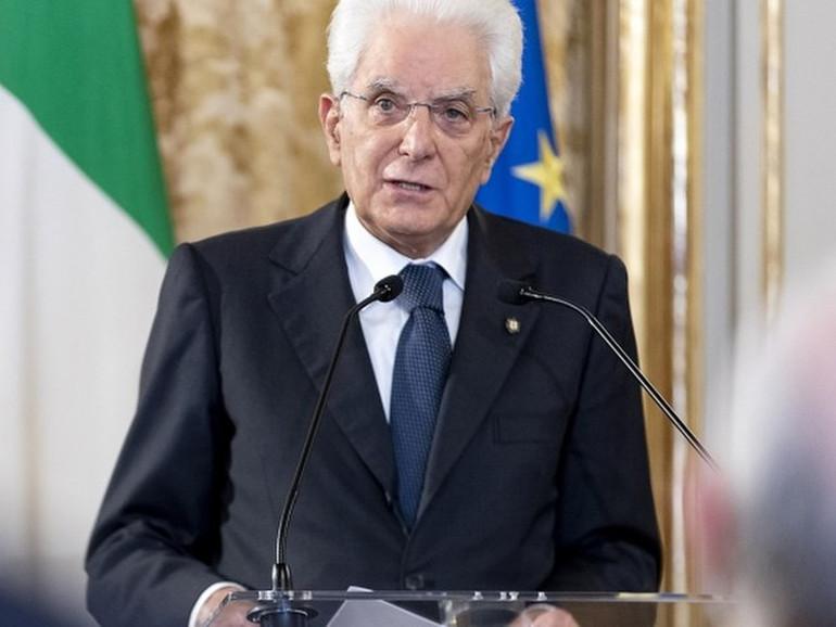 """Hiroshima, Mattarella: """"L'Italia sostiene con forza il disarmo nu"""