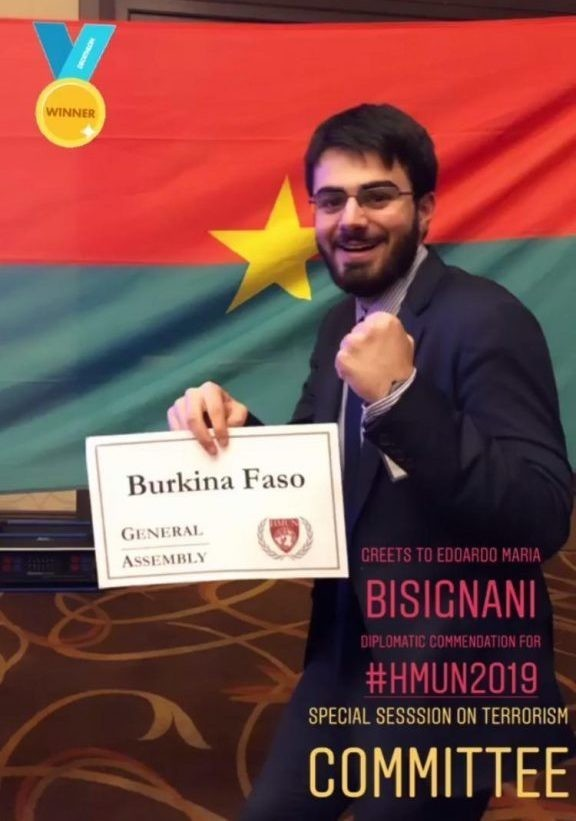 Uno studente italiano conquista l'Harvard Model United Nations