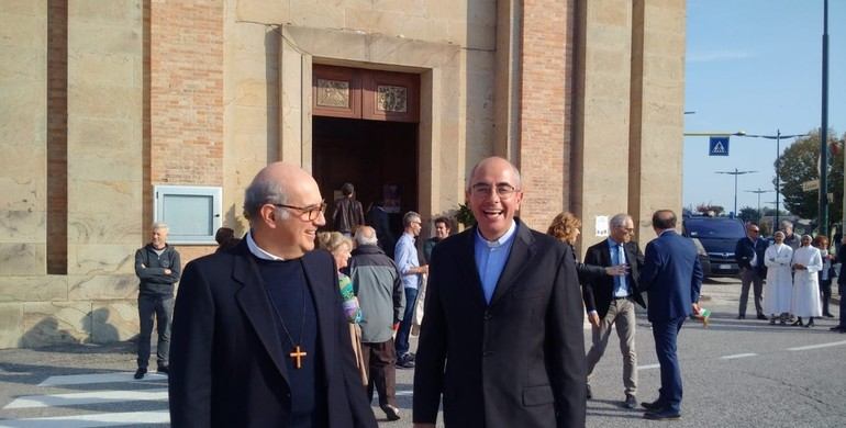 Ingresso don Alessandro Spiezia a Vigonza - 1
